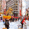 Occupy SF Market Street . 7D9733 Print by Wingsdomain Art and Photography