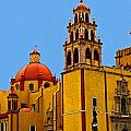 Ochre Cathedral Poster by Olden Mexico