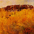 October  Print by Ann Powell