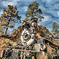 Of Mountain and Machine Poster by Jeff Kolker