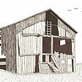 Ohio Barn Print by Pat Price