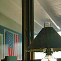 Oil Lamp and Porch Poster by Steven Ainsworth