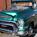 Old American GMC Truck . 7D10665 Poster by Wingsdomain Art and Photography
