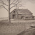 Old Barn2 Poster by William Deering