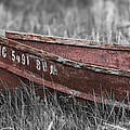 Old Boat washed ashore  Poster by Joe Gee