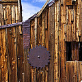 Old building Bodie ghost town Print by Garry Gay