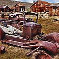 Old cars Bodie Poster by Garry Gay