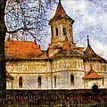 Old Church with Red Roof Poster by Jeff Kolker