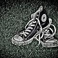Old Converse Poster by Gert Lavsen