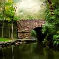 Old Country Bridge Print by Jessica Jenney