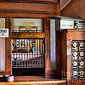 Old Fashion Post Office Print by Paul Ward