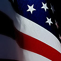 Old Glory - The Flag Of A Proud Country Print by Steven Milner