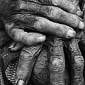 Old Hands 3 Print by Skip Nall