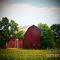 Old Indiana Barn Poster by Joyce Kimble Smith