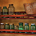 Old Jars Print by Lana Trussell
