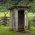 Old Outhouse on a Farm in the Smokey Mountains Poster by Randall Nyhof