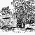 OLD QUAKER MEETING HOUSE Print by Granger