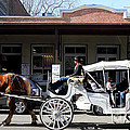 Old Sacramento California . Horse Drawn Buggy . Long Cut . 7D11482 Poster by Wingsdomain Art and Photography