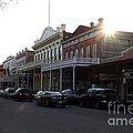 Old Sacramento California In Partial Silhouette . 7D11716 Poster by Wingsdomain Art and Photography