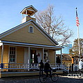 Old Sacramento California . Schoolhouse Museum . 7D11578 Poster by Wingsdomain Art and Photography
