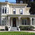 Old Victorian Camron-Stanford House . Oakland California . 7D13440 Poster by Wingsdomain Art and Photography