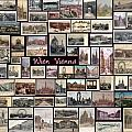 Old Vienna Collage Print by Janos Kovac