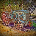 Oliver Tractor 2 Print by Nick Kloepping