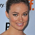 Olivia Wilde At Arrivals For Butter Poster by Everett