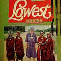 On the Lowest Prices Shopping Print by Adam Kissel