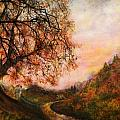 Once Upon October Print by Patricia Motley