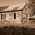 One Room School House Poster by RICK RAUZI