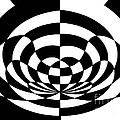 Op Art 2 Poster by Methune Hively