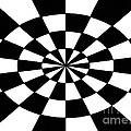 Op Art Poster by Methune Hively