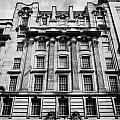 ornate facade of 124 st vincent street refurbished into modern office space glasgow scotland uk Poster by Joe Fox