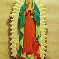 Our Lady of Guadalupe Print by Russell Ellingsworth