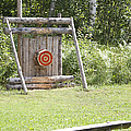 Outdoor Wooden Bulls-eye Poster by Jaak Nilson