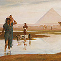 Overflow of the Nile Poster by Frederick Goodall