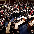 Overview Of The House Chamber Print by Everett