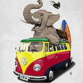 Pack the Trunk Print by Rob Snow