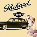 Packard 1951 Poster by Cinema Photography