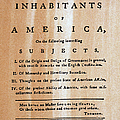 PAINE: COMMON SENSE, 1776 Print by Granger