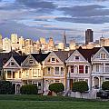 Painted Ladies in SF California Poster by Pierre Leclerc Photography