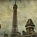 Pale Paris Poster by Nomad Art And  Design