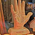 Palmistry Poster by Jerry Patterson