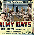 Palmy Days, Eddie Cantor, Charlotte by Everett