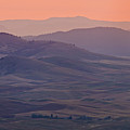 Palouse Morning From Steptoe Butte Print by Donald E. Hall
