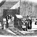 PAPERMAKING, 1833 Poster by Granger