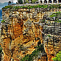 Parador Hotel Ronda - Andalusia Print by Juergen Weiss