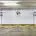 Parking Garage With Charging Stalls Print by Skip Nall