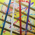 PARTY-Stripes-1 Print by Mordecai Colodner